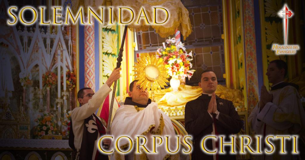 Meditación sobre la Eucaristía, Invitación para Corpus Christi.