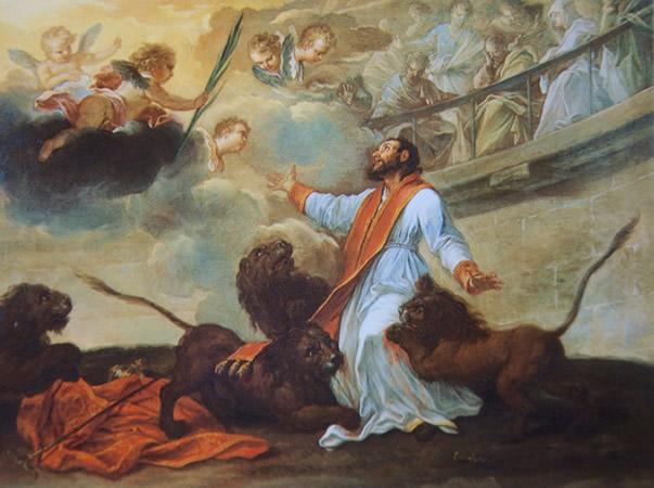 San Ignacio de Antioquía, el héroe de la arena.